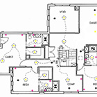 Piers Collins Interiors - Electrical Plans
